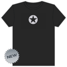Thumbnail of a black DF logo t-shirt.