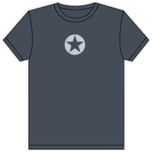 Thumbnail of a classic state gray DF logo t-shirt.
