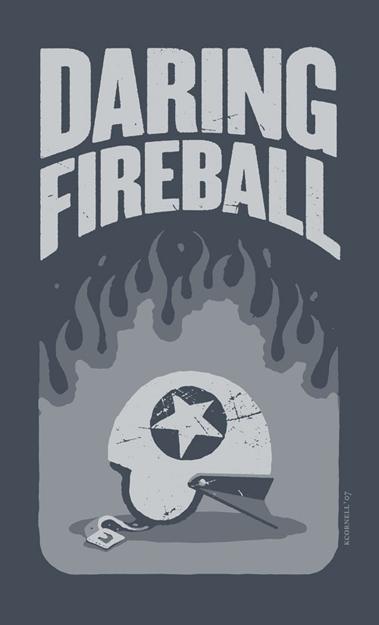 Kevin Cornell's 'Daredevil Helmet' T-Shirt Design