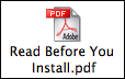 PDF readme icon on Mac OS X