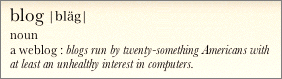 Screenshot of text rendered in the Dictionary widget.