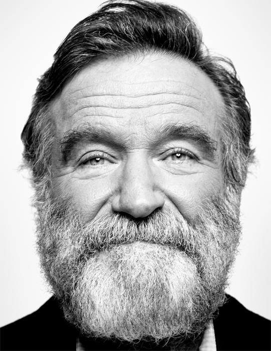 Portrait of Robin Williams in 2011