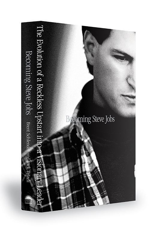 daring fireball becoming steve jobs new book by brent  it even has a great cover becoming steve jobs