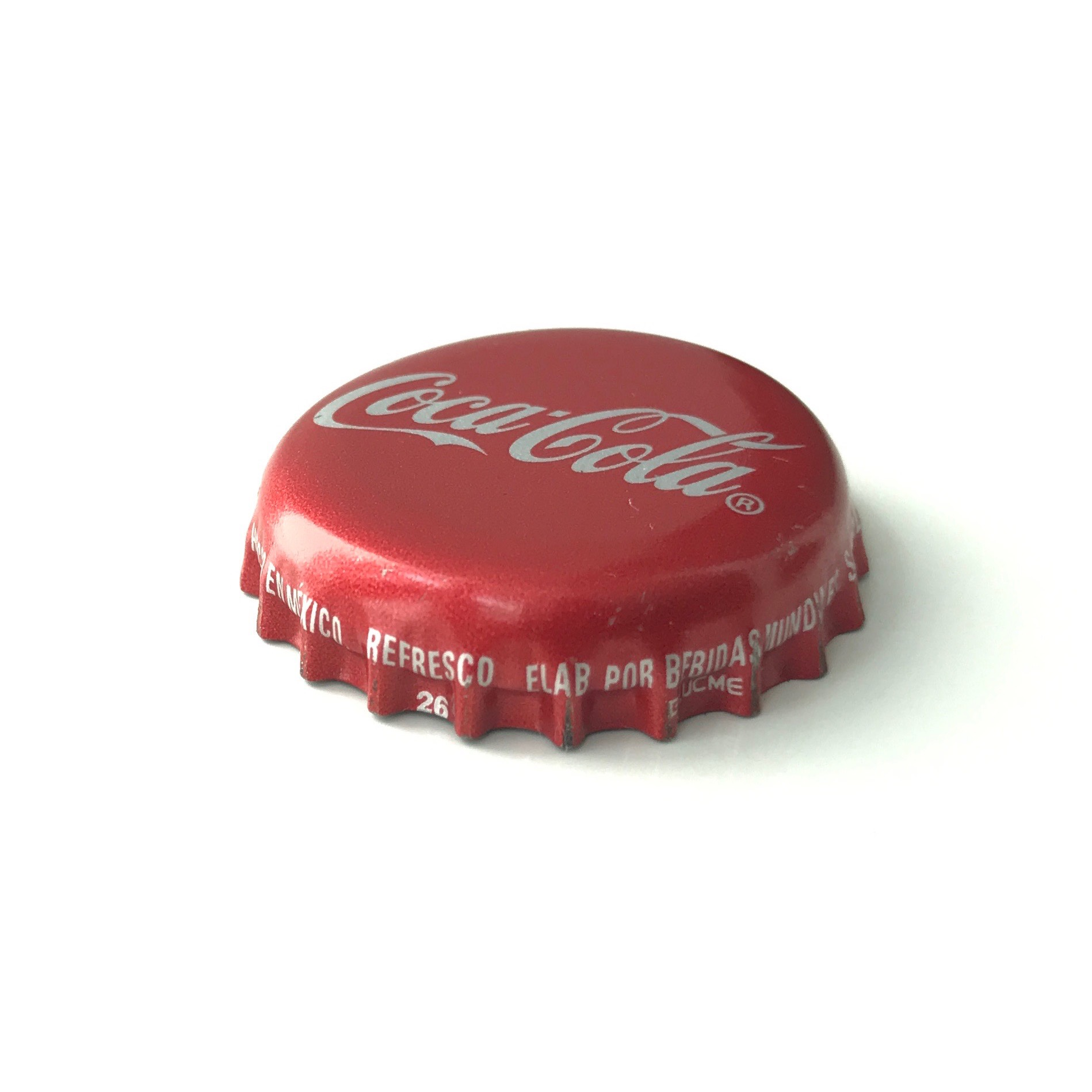 Mexican Coke bottle cap.